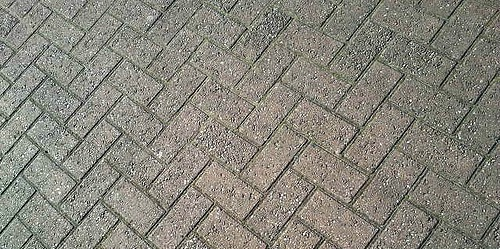 Example of Good Herringbone Block Paving - photo by quietlyurban.com