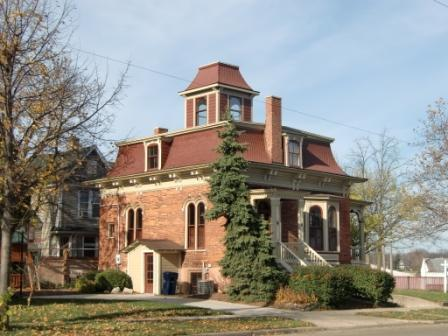 Second Empire house in Holland, MI