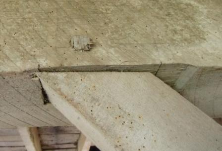 mortise and tenon joint pegged