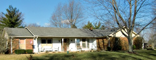 New Palestine has several Ranch subdivisions out in the country - Ranch Style Home Designs