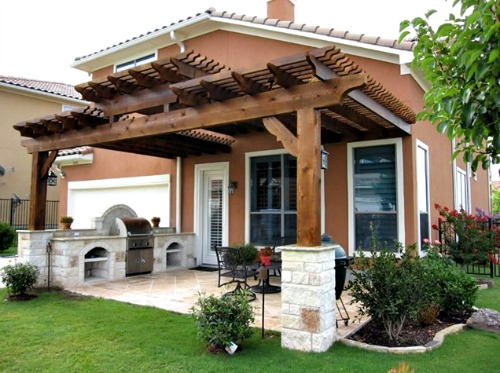 Outdoor Living Dream House Plans