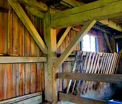 post and beam mortise and tenon