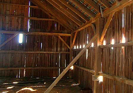post and beam timber framing with mortise and tenon joint