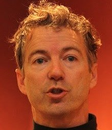 Rand Paul has Libertarian hair - It respects no outside authority - Much like Lex Luthor