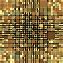 This is almost a randomized camouflage pattern - but intriguing - bathroom tile design ideas