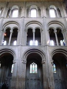 Roman arches at Ely Cathedral - courtesy Stevecadman at Flickr - http://www.flickr.com/photos/stevecadman/2749944650/
