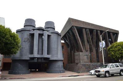 Frank Gerhy Binocular Building