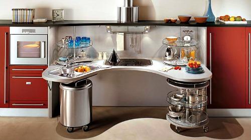 Snaidero modular accessible kitchen