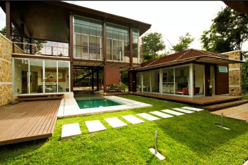Outdoor Connection Dream House Plans
