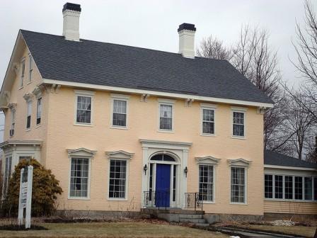 Federalist House Architecture Warren Hunt home